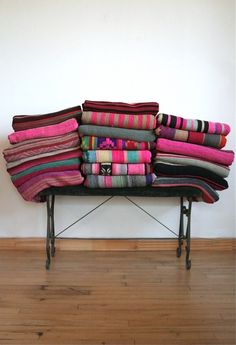 Bolivian Blankets - So Pretty To Just Have