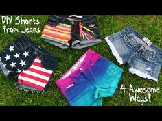 DIY T-Shirt Ideas Inspired By Tumblr | Easy & Cute Tumblr Shirts - YouTube