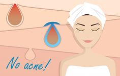 A mom who suffered from acne, researches four causes of acne and presents possible solutions.