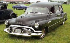 1952 buick hearse