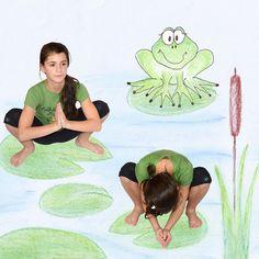 Kids Yoga Poses, Yoga For Kids, Exercise For Kids, 4 Kids, Little Girl Bikini, Baby Yoga, Mindfulness For Kids, Relaxing Yoga, Yoga Art