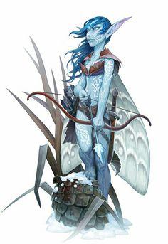 Sprite Fey - Pathfinder PFRPG DND D&D d20 fantasy Zelda, Fictional Characters, Fantasy Characters, The Legend Of Zelda