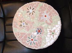 Custom Mosaic Round Flower Keepsake Box by Pieces Of Home Mosaics | CustomMade.com