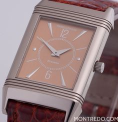 Jaeger LeCoultre Reverso - Mad Men style - Montredo Online Shop luxurious vintage watch unisex