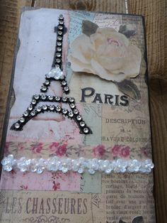 Paris Decor Sign Decorative Eiffel Tower & by AlmaSweetHeartDeals, $15.00