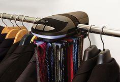 Motorized Tie Rack @ Sharper Image