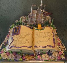 Once upon a time cake fairytail