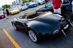 Porsche 356 wide body kit car