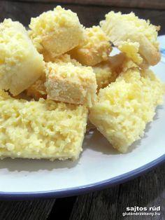 Burgonyás sajtos rúd recept - klasszikusok gluténmentesen Sajtos pogácsa helyett most gluténmentes sajtos rúd, ugyanolyan finom, csak más a formája. Hozzávalók: 50 db sajtos rúdhoz  5 dkg burgonyapehely 25 dkg Naturbit burgonyás tészta keverék 20 dkg Kenyérvarázs gluténmentes rizsliszt 1 db közepes méretű (M-es) tojás 10 dkg puha margarin 12,5 dkg rizs ...