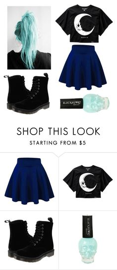 """☠"" by katewayne07 ❤ liked on Polyvore featuring Dr. Martens"