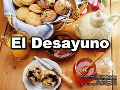 Vocabulario - El Desayuno