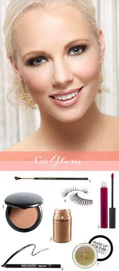 Glamorous makeup tutorial / Hair   Makeup By / http://teamhairandmakeupservice.com,Photography By / http://hennadiyk.com