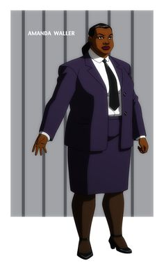YOUNG JUSTICE: AMANDA WALLER by *Jerome-K-Moore on deviantART
