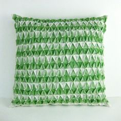 smocked pillow