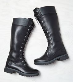 Timberland Premium Side-Zip Lace Waterproof Boot. These are my dream boots!  I need them in my life! Only $220!