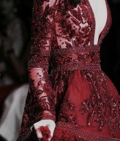 Embroidery dress red beautiful ideas for 2019 Burgundy Aesthetic, Trendy Dresses, Formal Dresses, Red Queen, White Queen, Costume, Embroidery Dress, Trends, Gowns