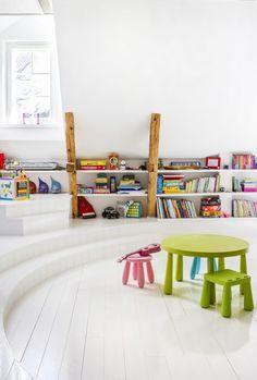 Lastenhuoneen säilytysideat – näin estät leluräjähdyksen! | Meillä kotona Nursery Inspiration, Loft, Bed, Furniture, Home Decor, Homemade Home Decor, Stream Bed, Lofts, Home Furnishings
