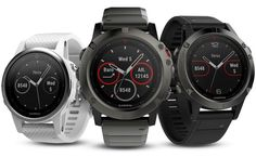 Garmin Fénix 5, nueva línea de relojes inteligentes para quienes gustan de las aventuras al aire libre