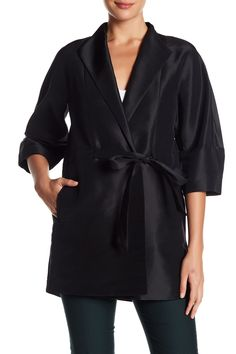 Rita Oversized Topper Silk Jacket