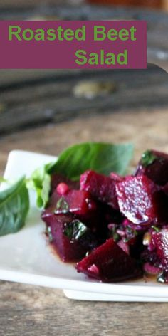 Roasted-Beet-Salad  | Sweet & Delicious | Great recipe from @ModernMomOnline