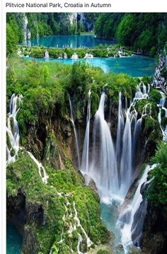 Plitvice Lakes National Park, Croatia : Most beautiful place in the world. Plitvice Lakes National Park, Croatia : Most beautiful place in the world. Beautiful Waterfalls, Beautiful Landscapes, Famous Waterfalls, Beautiful Places In The World, Wonderful Places, Amazing Places, Amazing Photos, Beautiful Pictures, Beautiful Beautiful