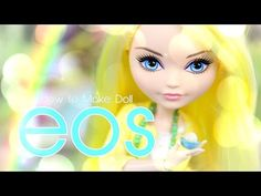 How to Make Doll EOS - EASY Doll Crafts - YouTube