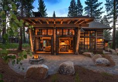 mountain home featuring stunning reclaimed wood exterior built by nsm construction in martis camp truckee architecture by dennis e zirbel interior design by julie johnson holland - PIPicStats Modern Mountain Home, Mountain Style, Mountain Homes, Mountain Cottage, Mountain Cabins, Mountain Home Exterior, Rustic Home Design, Modern House Design, Construction Chalet