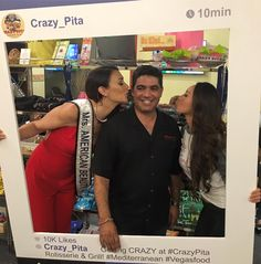 Owner Mehdi Zarhloul getting love for 10 crazy years! #crazypitaturns10
