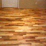 DIY Pallet Wood Flooring