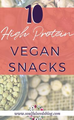 Best Vegan High Protein Snacks Some great Vegan Protein recipes! Vegan Protein Sources, Vegan Protein Bars, High Protein Vegan Recipes, Vegan Recipes Plant Based, Best Protein, Vegetarian Recipes, Snack Recipes, Healthy Recipes, Veg Recipes