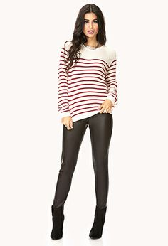 Standout Faux Leather Pants | FOREVER21 - 2077690126 #ForeverHoliday