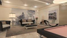Billiard Table, Dinner Billiard Table, Pool Billiard, Biliardo Tavolo - Parigi by MBM biliardi.
