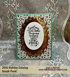 Pretty Paisleys Textured Impressions Folder – Stampin' Up! #stampinup #remarkablycreated