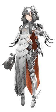 Character Design Animation, Fantasy Character Design, Character Design Inspiration, Character Concept, Character Art, Anime Girl Neko, Anime Art Girl, Fantasy Characters, Anime Characters