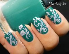 Lesly Stamping Nail Art (Mini-Lesly Set)