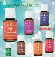 I'm giving away some of my favorite oils or Young Living products FREE to new members!
