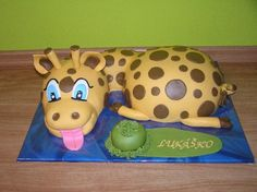 3D Žirafa   Torty od mamy