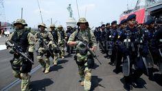 Upacara Pembukaan Latihan Gabungan TNI