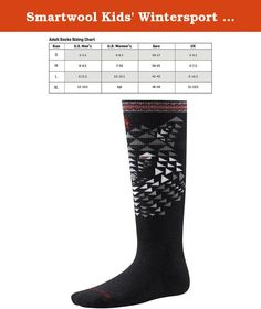 Smartwool Kids' Wintersport Wolf Socks (Black) X-Small. Keep his feet warm and your little ripper will be howling for more long after everyone else has called it a day. This extra warm winter sock gives kids the comfort and support to stay smiling after hours of outdoor fun. With a medium cushion leg and foot and flat knit toe seam. Medium Cushion Medium cushioned foot and leg for high impact absorption and ultimate warmth Machine Wash Warm Gentle Cycle. Do Not Bleach. Tumble Dry Low. Do…
