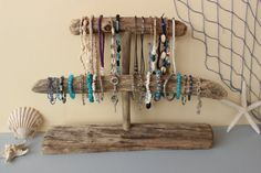 driftwood jewelery holder