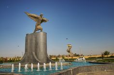 https://flic.kr/p/oV6u3Q | Abbas Ibn Firnas Statue - Baghdad  عباس بن فرناس‎ | Abbas Ibn Firnas is an inventor, physician, engineer, Andalusian musician, and Arabic-language poet. He was famous for trying to fly.