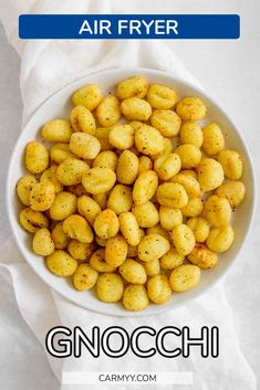 Soft on the inside and crunchy on the outside, you have to try this Air Fryer Gnocchi recipe. It's so easy to make and is made in only a couple of minutes!
