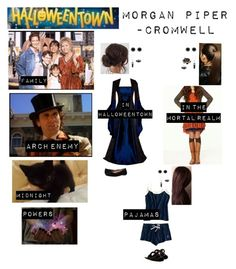 """""""Me in """"Halloweentown"""""""" by c-a-marie2000 ❤ liked on Polyvore featuring Bridge Jewelry, Capelli New York, Masquerade, Thomas Sabo, Chinese Laundry and Walking Cradles"""