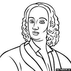 vivaldi four seasons coloring pages | 19 Best Antonio Lucio Vivaldi images | Concert hall ...