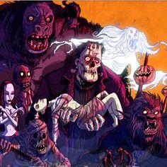 Halloween Parade, Creepy Halloween, Halloween Party Decor, Halloween Costumes, Most Haunted, Halloween Wallpaper, Cultura Pop, Frankenstein, Zombies