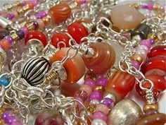 Necklace ~ SUMMER JAM ~ A Multi-Strand Adventure - Handcrafted Artisan Jewelry on Ruby Lane
