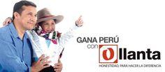 Cartel del candidato Ollanta Humala para las elecciones presidenciales de Perú 2011.