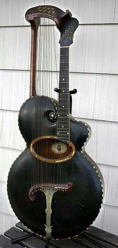 an oldie, but goodie harp guitar