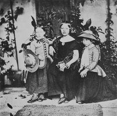 Princess Helena, Princess Royal and Princess Alice, Balmoral   Royal Collection Trust