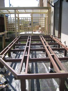 Grill Design, Deck Design, Wood Design, Gazebo Pergola, Deck With Pergola, Wood Deck Plans, Mobile Home Deck, Stone Garden Paths, Steel Structure Buildings